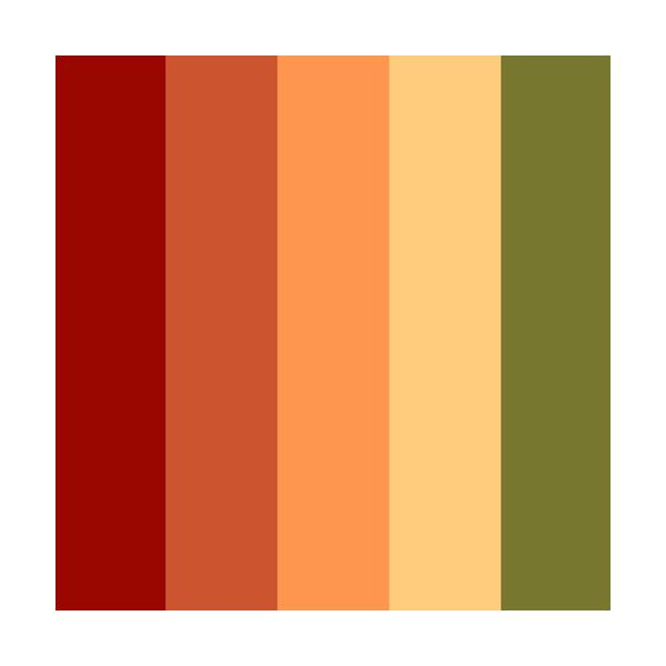 Colors should blend well together, as well as fit a certain theme or feeling.
