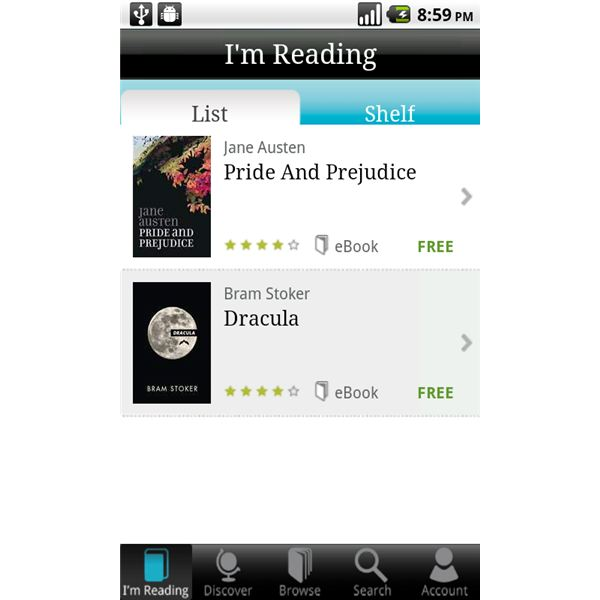 Top Android Ereader App Round Up