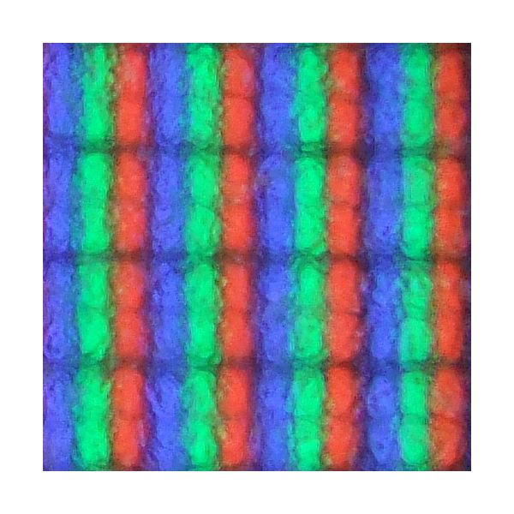 Pixels As Seen Through a Microscope