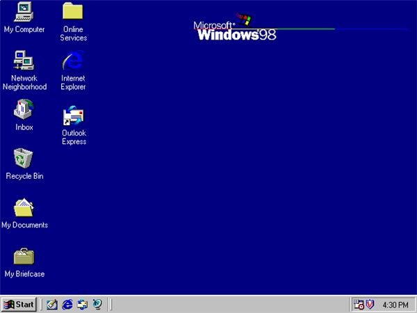 Windows 98 (v4.1)