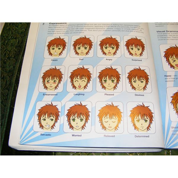Anime faces handout