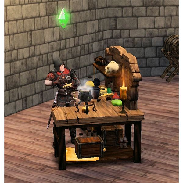 The Sims Medieval Poisons