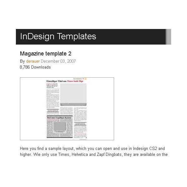 Great Free Magazine Layout Templates: Use As-Is or Get Inspiration