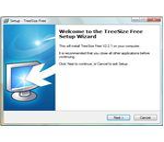 treesizefree install step1
