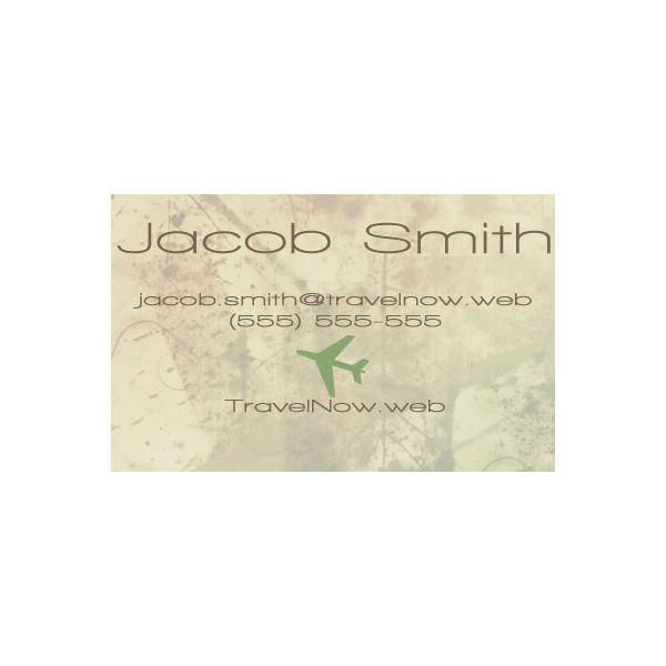 Muted Color Scheme Business Card General Business Purpose
