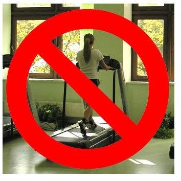 No More Treadmills!