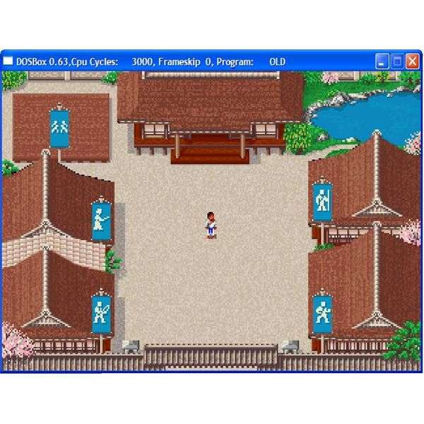 Retro Game Review of Budokan the Martial Spirit by Electronic Arts - A