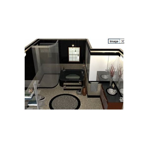 SketchUp Bathroom Plan. Google SketchUp Is A Free Home Design Software ...