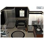 SketchUp Bathroom Plan