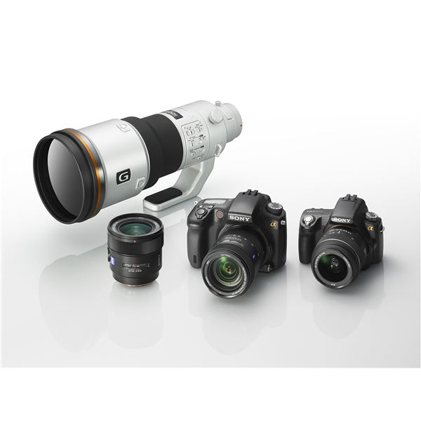 Sony DSLRs and Lenses