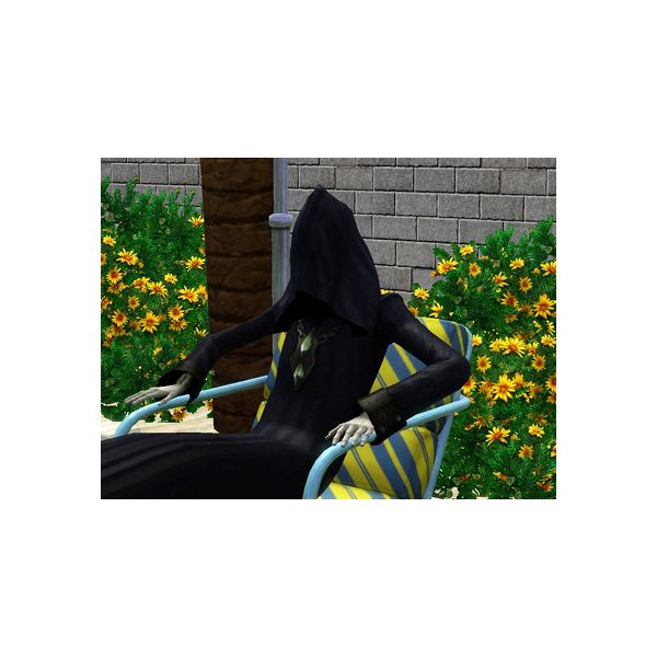Unlocking the Sims 3 Grim Reaper Outfit