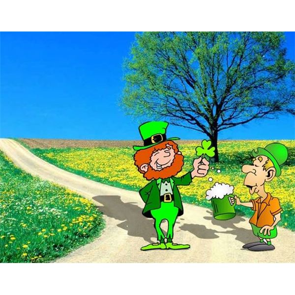 st-patricks-day-scrapbook-backgrounds-leprechaun