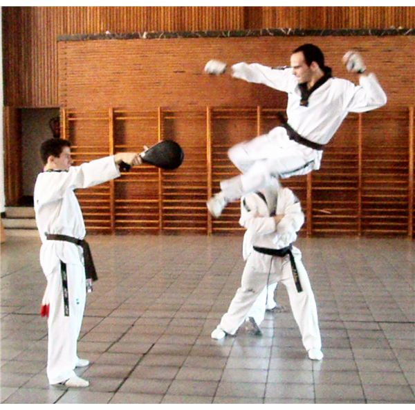 Taekwondo - Photo taken by Krun00 at Wikimedia Commons