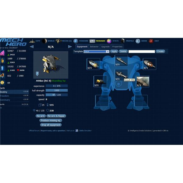 Mech Hero Review - One of the best free mech games online