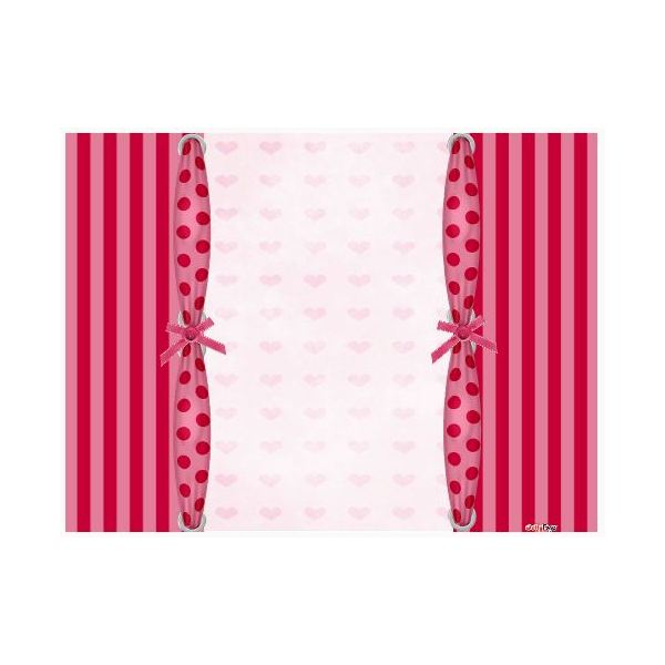 valentines-scrapbook-backgrounds-Pink-stripes-hearts