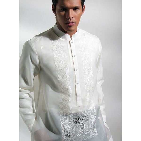 436px-MyBarong created this Custom tailored Barong Tagalog for my wedding