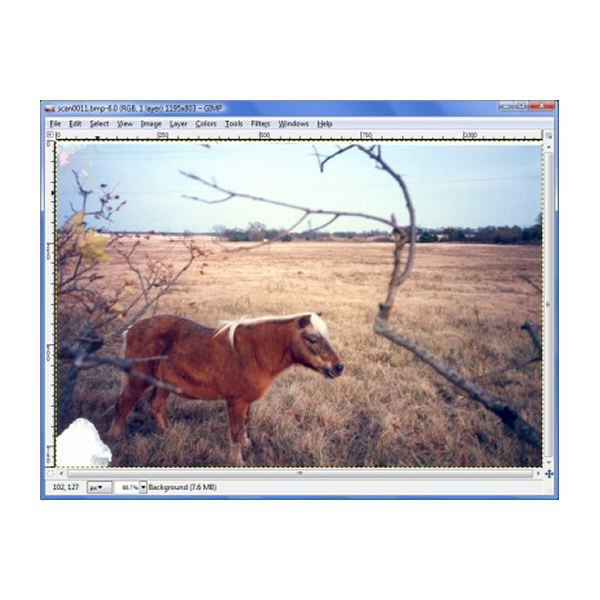 How To Restore A Damaged Photo Using Gimp