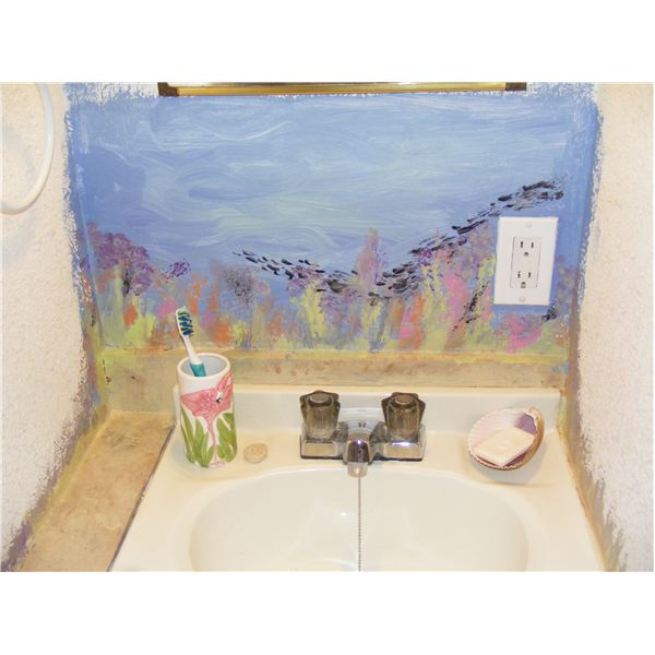 Sink After Painting