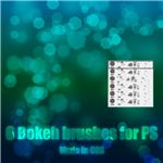 Bokeh Brushes by LucieG Stock