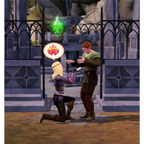 The Sims Medieval propose