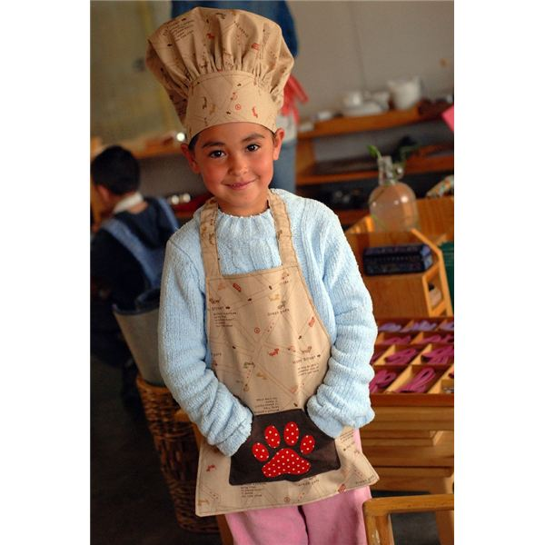 Child With Chef Hat