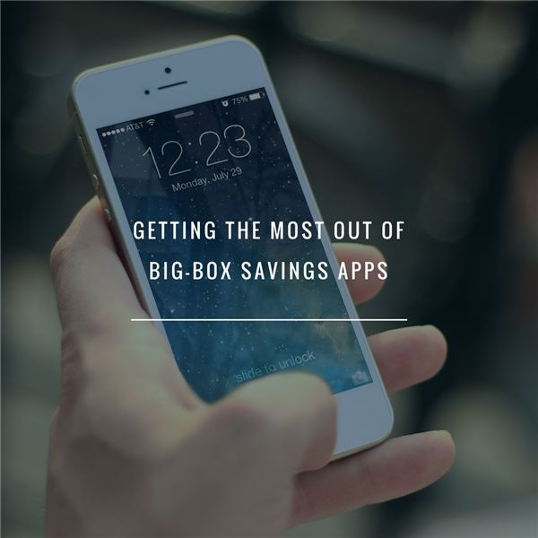 Making the Most of Savings Apps