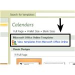 View Templates from Microsoft Online