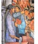 450px-Murales Rivera - Treppenhaus 11 Arbeiter mit Kapital