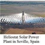 heliostat solar power plant