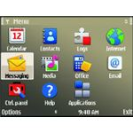 Nokia E72 User Interface