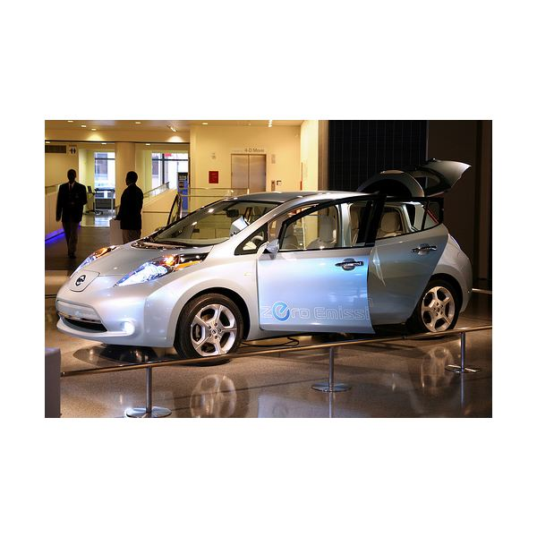 Electric Vehicle Powered by Lithium-ion Batteries