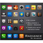 Radiance theme for iPhone