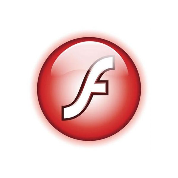 An example Flash logo.