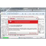 SiteAdvisor Detects Unsafe Download: Trojan Bancos