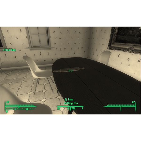 Fallout 3 - This Rolling Pin is a Weapon of Mass Destruction