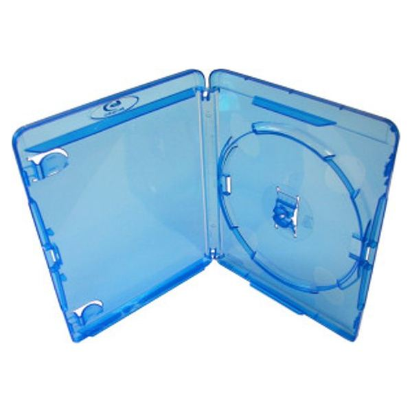 Blu-ray disc cases are designed to protect the disc from static