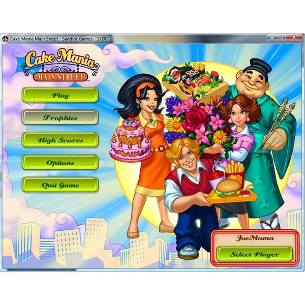 Sandlot Games Cake Mania Main Street - One Awesome Sim Game That You Can't Frost Off