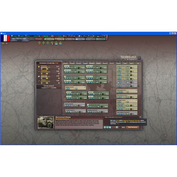 Hearts of Iron III and the Neverending Tech Tree