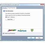 Fraud Reporting in Opera Browser