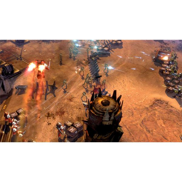Dawn Of War II: Space Marine Tactics Guide