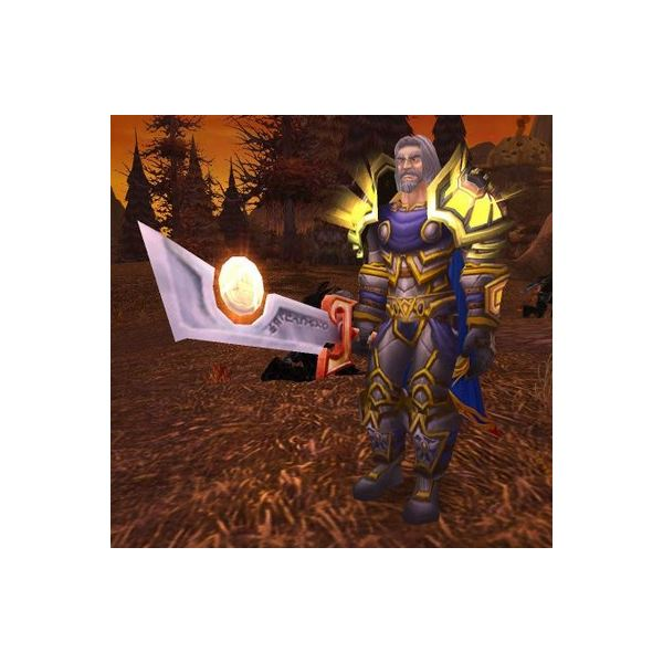 Tirion Fordring and the Ashbringer