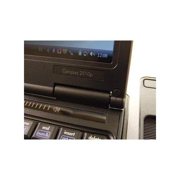 HP Compaq 2510P Quick Buttons