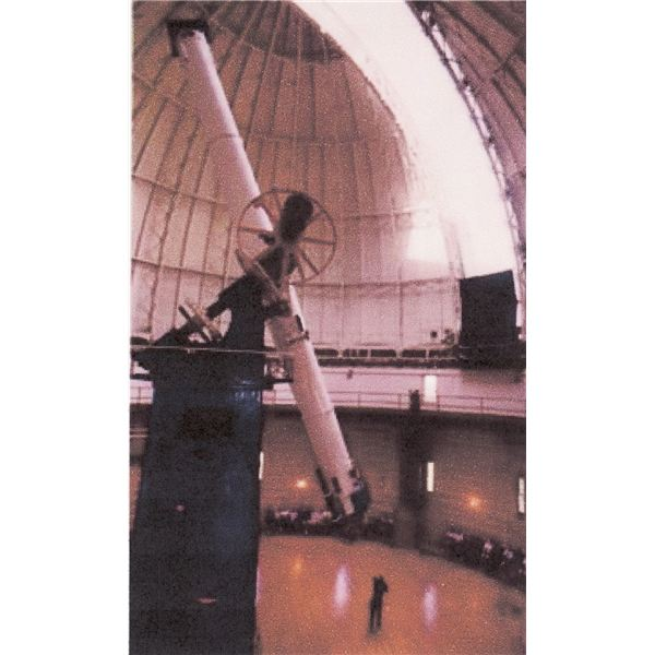 The 40-inch refractor at Yerkes