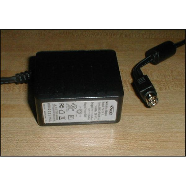 7. The power adapter transformer and power cable.