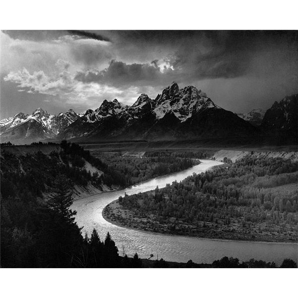 The Tetons and the Snake River by Ansel Adams