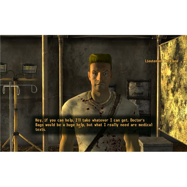 No, Not Much - Fallout: New Vegas Walkthrough - Helping Lt. Markland at Bitter Springs