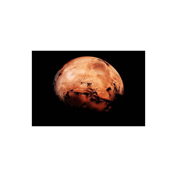 Our Neighbour Mars Does Have Water - Image Courtesy NASA-GRC