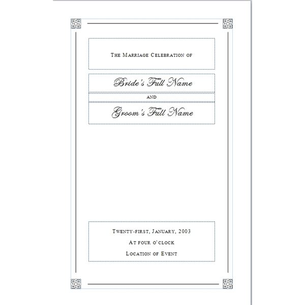 creating a funeral program tips for designing your own personal