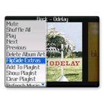 FlipSide MP3 Player BlackBerry App