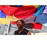 recycled fabrics,swen umbrella sunshade